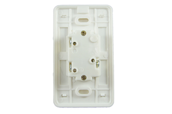 Electrical Straight Blade Receptacle with Cover LK3422F-C