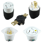 Locking Type 15A, NEMA Locking Type, Locking Flanged Outlets & Inlets
